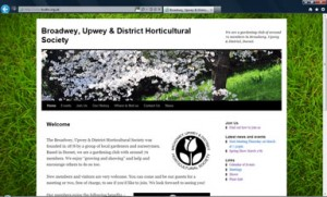 Broadwey, Upwey & District Horticultural Society Website